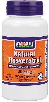Resveratrol with red wine extract