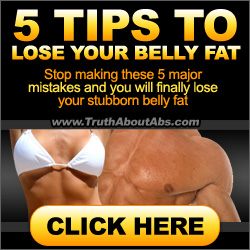 5 tricks to lose belly fat fast