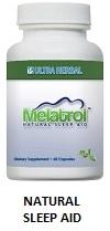 Better sleep naturally with Melatrol natural sleep aid.