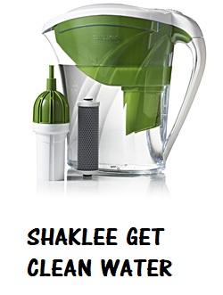 Shaklee Get Clean Water Pitcher