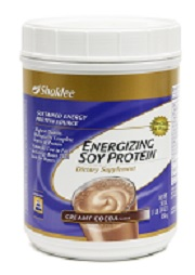 Click here for a review of Energizing Soy Protein from Shaklee