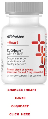 About Shaklee CoQ10 CoQHeart® with Q-Trol®