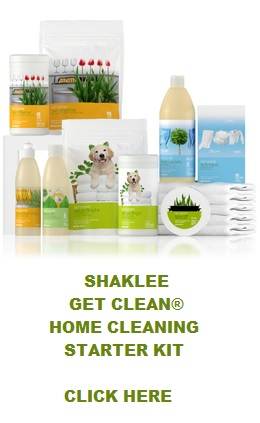 Shaklee Get Clean® Starter Home Cleaning Kit Product