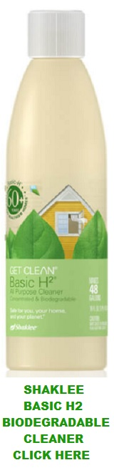 About Shaklee Basic H2® Biodegradable Cleaner
