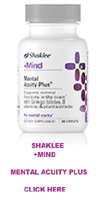 Shaklee Mental Acuity Plus� Product