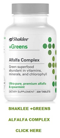 About Shaklee Alfalfa Complex Tablets
