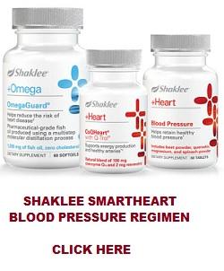 Shaklee SmartHeart Blood Pressure Regimen for Lower Blood Pressure