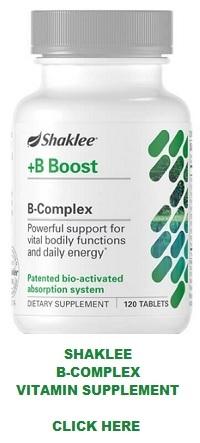 Shaklee B-Complex Vitamin Supplement