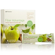 Review: Shaklee Fiber Advantage Chewy Apple Cinnamon Bar