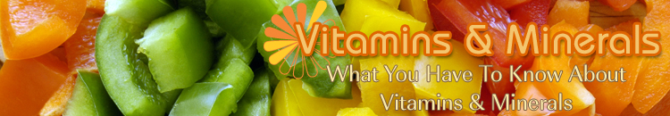 Vitamins and Minerals: Shaklee Vitamin Ingredients