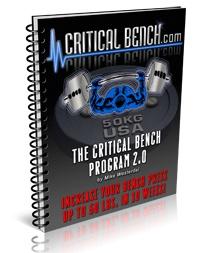 Bench Press Technique Secrets Video