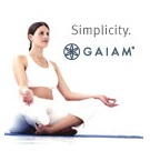 Yoga supplies from Gaiam